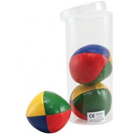 Juggling Balls. Set Of Three (Clowns Fancy Dress)