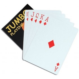 "Playing Cards. Jumbo 5""X7"" (Fancy Dress Tricks)"