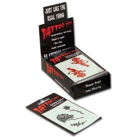 Tattoos Assorted Designs One Pack Only (Fancy Dress Tricks)