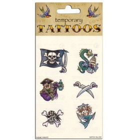 Tattoos Theme Pirate (Pirates Fancy Dress)