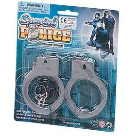 Plastic Handcuffs (Cops/Robbers Fancy Dress)