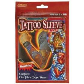 Tattoo Sleeve (1 In Pkt) (1980S Fancy Dress)