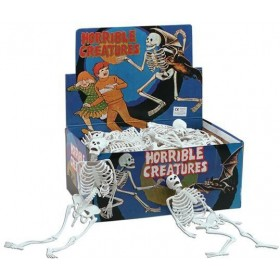 "Skeleton. White Pvc 12"" (Halloween Decorations)"