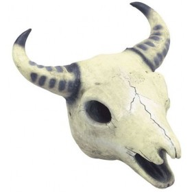 Cow Skull Prop (Halloween Decorations)