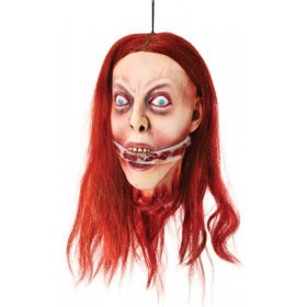 Hanging Head Breathless (Halloween Decorations)