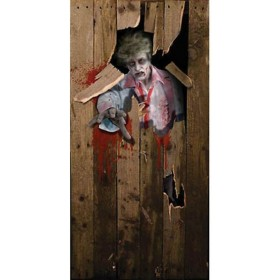 Halloween Door Poster 6Ft X 3Ft (Halloween Decorations)