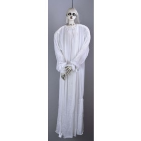 "Hanging Female Ghost White 48""- Fancy Dress Halloween"