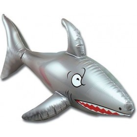 "Inflatable Shark 24"" (Fancy Dress Inflatables)"