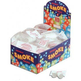 Smoke Bombs White Pkt of 2 (Fancy Dress Tricks)