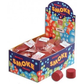 Smoke Bombs. Red Pkt of 2 (Fancy Dress Tricks)