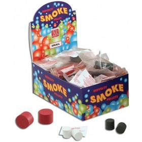 Smoke Bombs Assorted. Pkt of 2 (Fancy Dress Tricks)