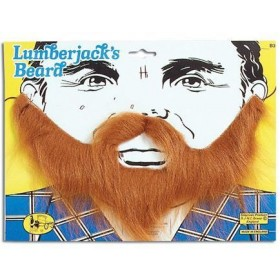 Lumberjack Beard. Brown (Fancy Dress Facial Hair)