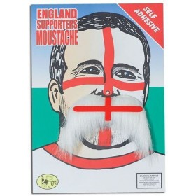 England Tash. 70'S Style (1970S Fancy Dress Facial Hair)