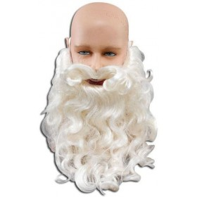 "Father Xmas Beard 10"". Good Quality (Christmas Facial Hair)"