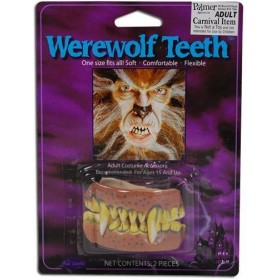 Teeth. Werewolf (Halloween Disguises)