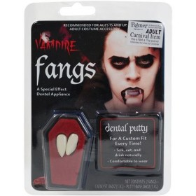Dracula Fang Caps (Halloween Fancy Dress)