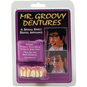 Mr Groovy Teeth (1970S Fancy Dress)