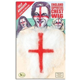 England Hairy Chest (Cultures Fancy Dress)