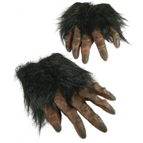 Hairy Hands. Brown (Halloween Gloves)