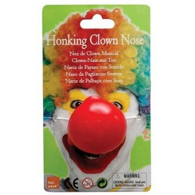 Clown Nose. Honking (Clowns Fancy Dress Disguises)