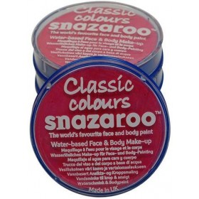 Snazaroo Bright Pink 18Ml Tubs (Clowns Fancy Dress Face Paint)