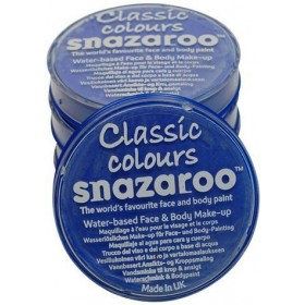 Snazaroo Sky Blue 18Ml Tubs (Clowns Fancy Dress Face Paint)