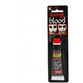 Blood On A Card (Halloween Face Paint)
