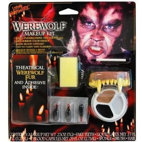 Werewolf Make Up Kit. (Halloween Make Up)