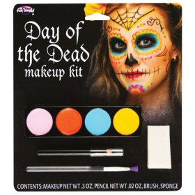 Day Of Dead Make Up Kit (Female)