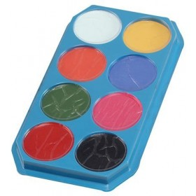 Snazaroo 18Ml Pallette (Clowns Fancy Dress Face Paint)