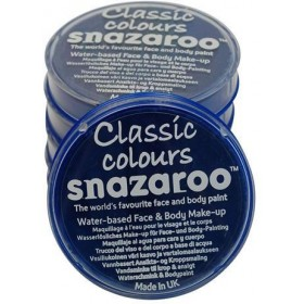 Snazaroo Royal Blue 18Ml Tub (Clowns Fancy Dress Face Paint)