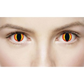 Xtreme Eyes 1 Day Lens Hades Fancy Dress Accessory