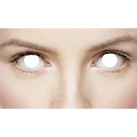 Xtreme Eyes 1 Day Lens Blind/Zombie Fancy Dress Accessory