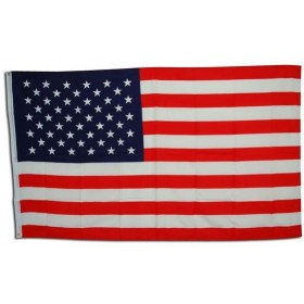 Stars/Stripes Flag. 3' X 5' (Fancy Dress)