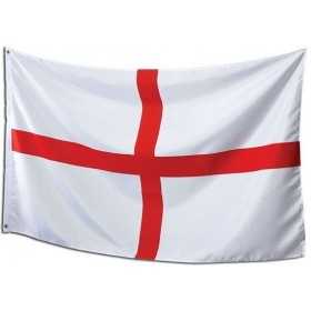 St.George Flag. 3' X 5' Cloth (Fancy Dress)