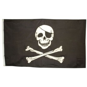Skull & Crossbones Flag 3' X 5' (Fancy Dress)