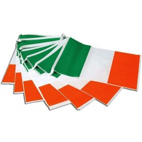 Bunting. Ireland 7M, 25 Flags (Fancy Dress)