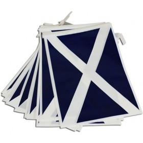 Bunting. Scotland 7M, 25 Flags (Fancy Dress)