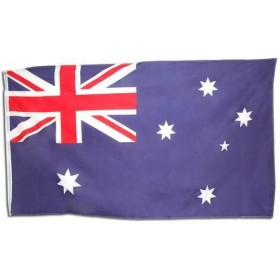 Australian Flag. 5' X 3' Cloth (Fancy Dress)