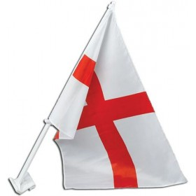 St George Car Flag 30X45Cm (Fancy Dress)