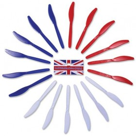Red/White/Blue Knives (Fancy Dress)