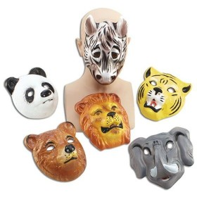 Wildlife Animal Masks.  (Animals Fancy Dress Masks)