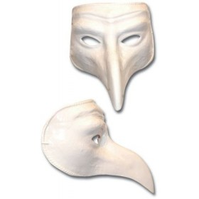 White Comedy (Fancy Dress Masks)