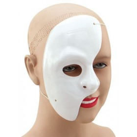 Phantom Of The Opera Half Face (Halloween Masks)