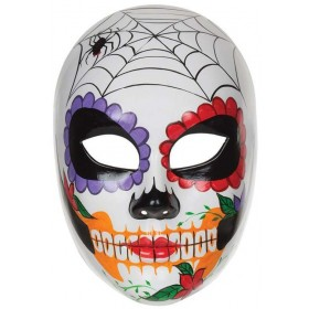 Ladies  Day Of The Dead Halloween Mask