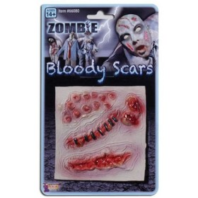 Zombie Assorted Scars (Halloween Disguises)