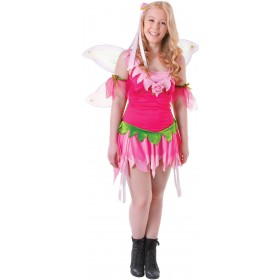 Teen  Forest Flower Fairy Fancy Dress Costum