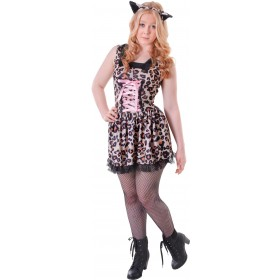 Teen Leopard Cutie Fancy Dress Costume
