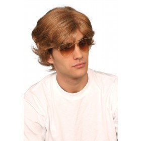 George Michael 80s Male Wig (Boxed)