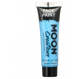 Moon Creations Face & Body Paint Light Blue